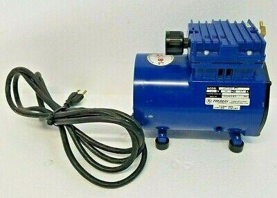 Thomas 607ca22-870a Piston Wob-l Air Compressor Pump Vacuum 115v60hz3.5a