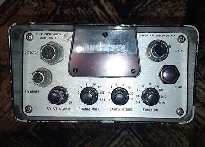 Exploranium Gr-410 Mca Gamma Spectrometer 3 Naitl Scintillation Detector