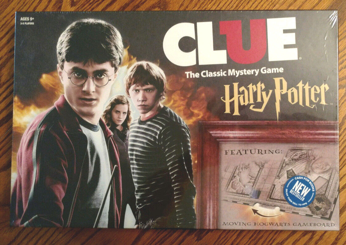 Clue: Harry Potter Special Edition Classic Mystery Board Gam