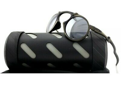 RARE Genuine OAKLEY MADMAN Pewter Black Iridium Polarized Sunglasses OO 6019-02