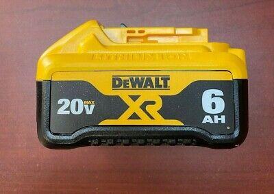 NEW Genuine Dewalt DCB206 20V Max 6.0AH XR Li-Ion Battery Open Box