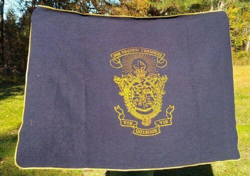 Vintage LAMBDA CHI ALPHA Tapestry Throw Blanket Crest Fraternity