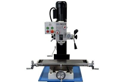 Pm-727m Vertical Bench Top Milling Machine Geared Head Free Shipping