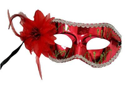 Pretty Masquerade Masks (Pretty Flower Mardi Gras Mask)