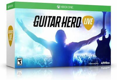 NEW Open Box Xbox One Guitar Hero Live Guitar Controller with Strap & Dongle