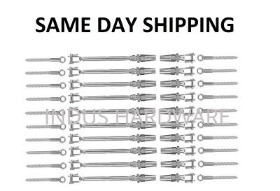 18 Cable Railing 316 Stainless Steel Kit 36height Wood Kit Quick Installation