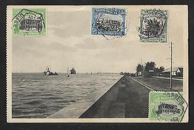MOZAMBIQUE BEIRA TO HUNGARY PPC COVER 1926