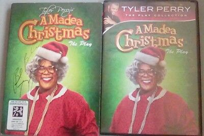 Tyler Perry's A Madea Christmas - The Play w/ autograph (DVD, 2011) Tyler Perry ()