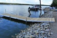 Dock and boat lift removal!