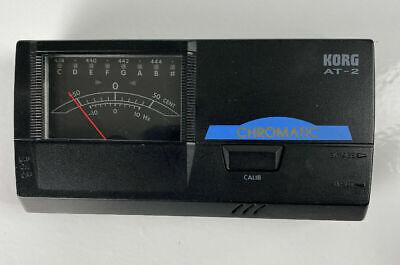KORG AT-2 GUITAR TUNER * CHROMATIC