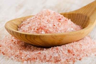 Himalayan Bath Salt Crystals (Unrefined Natural Pink Himalayan Rock Salt Bath Crystals Food Detox Vegan 250g )