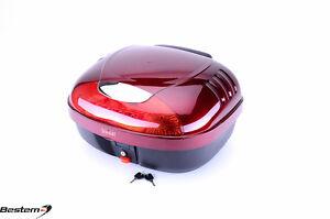 Honda CTX700 T-box Top Box Case Backrest Trunk RED