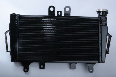 ALUMINUM RACING COOLER RADIATOR FOR TRIUMPH TIGER 1050 2007 2010 BLACK