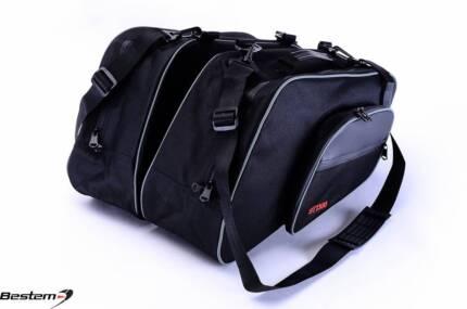 Honda ST1300 Saddlebag Side Case Trunk Liner Bag Liners Bag BLK