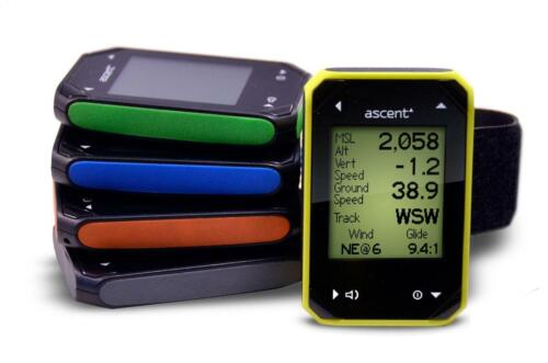 Ascent H2 Wrist Gps Variometer For Paragliding, Ppg  Available In 5 Colors
