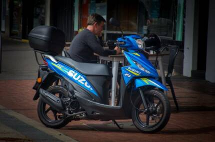 Suzuki Limited Edition GP scooter, Brand New.