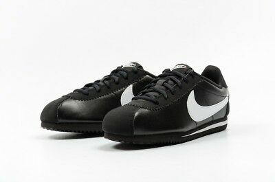 Nike Cortez (GS) Black White forrest gump running training 749482-001