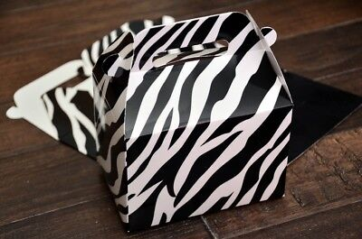 12 Assorted Jungle Animal - 12 Assorted Safari Jungle Animals Favor Boxes / Treat Boxes / Gift Boxes