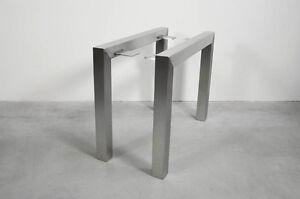 Stainless Steel Table Legs,U shaped,Handmade in U.S. Highest Quality Materials.