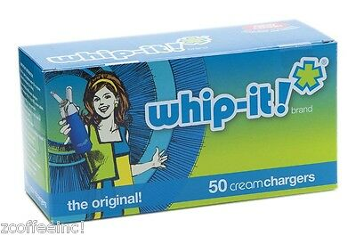 6 boxes of 50- 300 Cream Chargers Nitrous Oxide N2O WHIP-IT FS WHIPPED WHIPPET