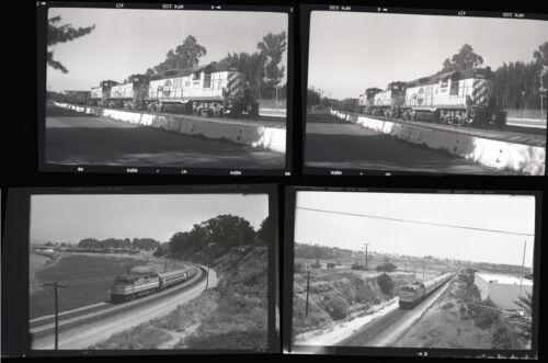 4 Cal Train B&W Negatives