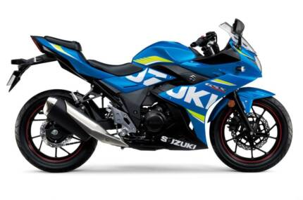 SUZUKI GSX250R LAMS APPROVED DEMO - Stock No. 1533