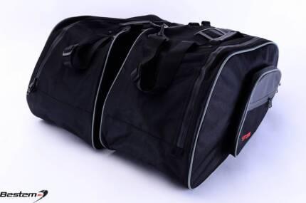 6Honda ST1300 Saddlebag Side Case Trunk Liner Liners Bag Wide