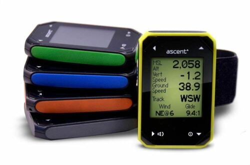 Variometer Ascent H2 Paragliding Ppg Gps Paragliding, Ppg Available In 5 Colors