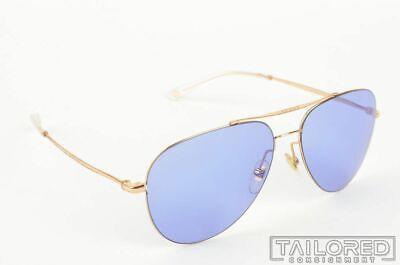GUCCI GG 2245/S DDB35 Solid Gold Mens Aviator Sunglasses