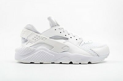 Herren Nike Air Huarache WhitePurePlatinum 318429 111 Größen: UK 8.5 _ 9 _ 10 _ 11