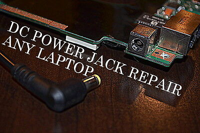 DC Power Jack Repair Service Dell HP Asus Acer Sony Vaio Gateway Toshiba Laptop