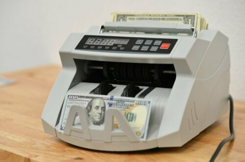Ultraviolet and Magnetic Bill Counter & Counterfeit Detector - Intellinote