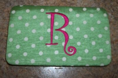 Main Street Collection (MSC) Fashion Monogrammed (R) Credit Card Case Pink - Main Street Collection Monogram