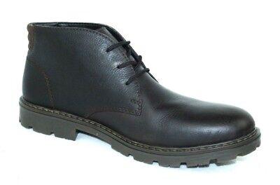 Rieker Herren 32104 Desert Boots Dunkelblau Leder Gr.43 (p24)