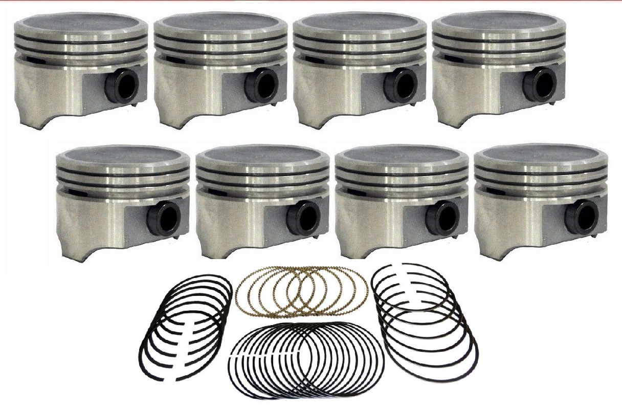 Hastings 5499-040 8-Cylinder Cast Piston Ring Set