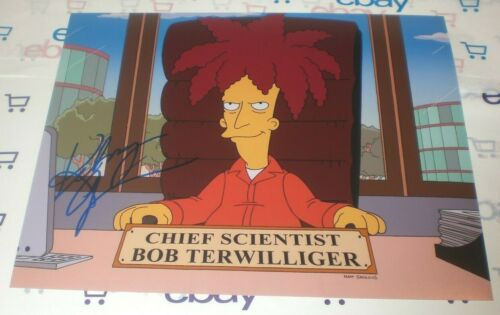 KELSEY GRAMMER SIGNED THE SIMPSONS SIDESHOW BOB PROMO 8X10 PHOTO AUTOGRAPH COA