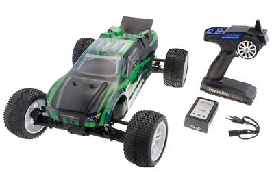 RC Truggy Yacubi Pro 4WD Brushless 70km/h 2,4 GHz Metallboden + Lipo Akku