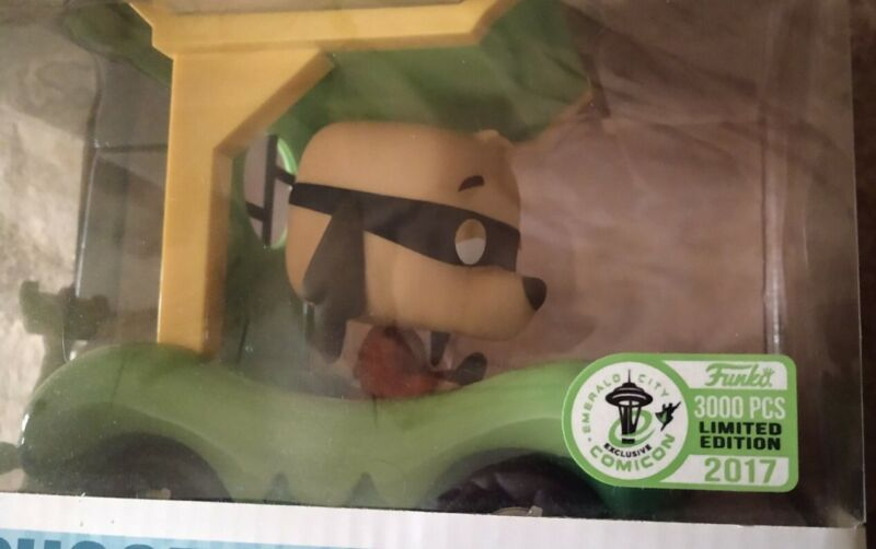 Funko Pop Hong Kong Phooey & the Phooeymobile + vintage enamel pin