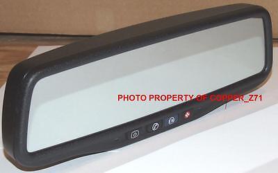 New   2009 14 Silverado Sierra Onstar Backup Camera Mirror W Wiring Adapter