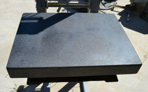 "Tru-Acc Pyramid Precision Black Granite Surface Plate 24"" x 18"" x 3"""