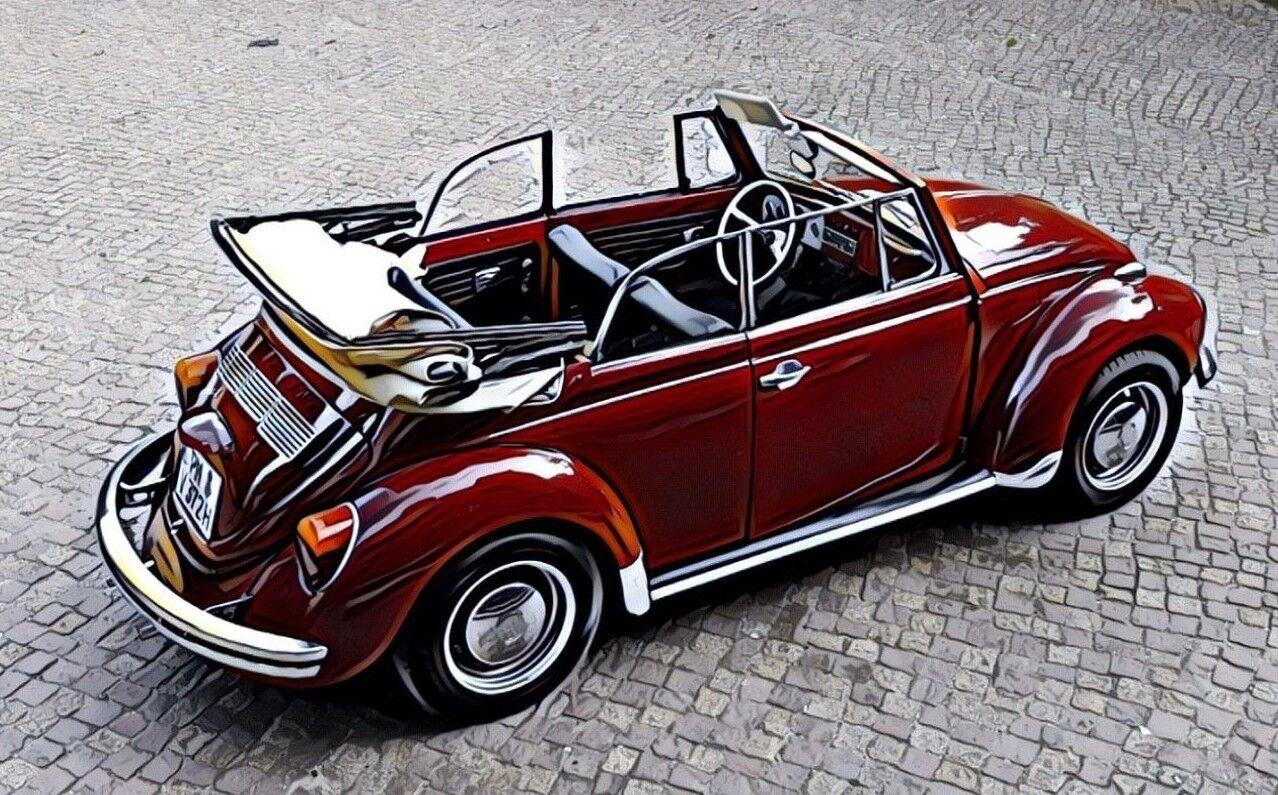 VW Käfer Cabrio 1302 LS TÜV 04/2020 Oldtimer H-Kennzeichen EZ 1972