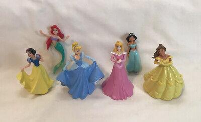 Disney Princess Basic Fun 2002 Keychain Mini Doll Retired Lot Of 6-NO KEYCHAINS