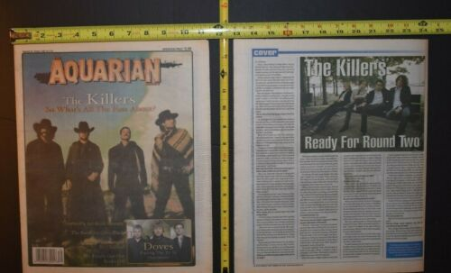 Killers 2005 2PC Color Cover/Interview Lot Ready For Round Two