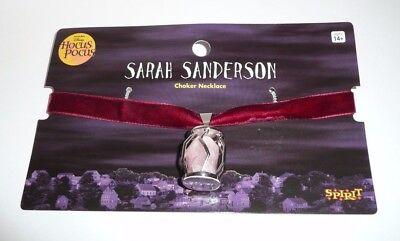 Hocus Pocus Sarah Sanderson Cosplay Costume Necklace Choker Disney Pink Rock - Hocus Pocus Cosplay
