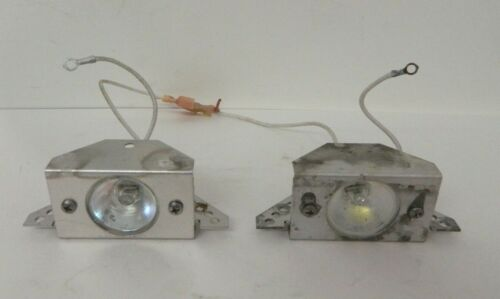 LOT OF 2 LIGHTBAR TAKEDOWN ALLEY LIGHTS WHITE / CLEAR