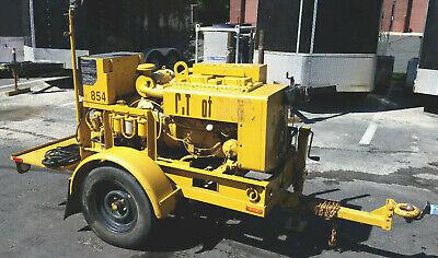 Onan Military 10kw Towable Diesel Generator Model Mep-003a With 3395 Hours