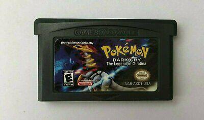 Pokemon Dark Cry: The Legend of Giratina Hack Game Boy Advance GBA Game (Pokemon Dark Cry The Legend Of Giratina)