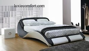BRAND NEW COW LEATHER MODERN DESIGN BED RRP $1999 Hoppers Crossing Wyndham Area Preview