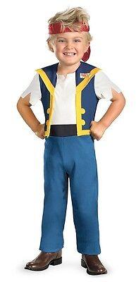 Jake Classic Neverland Pirates Disney Dress Up Halloween Toddler Child Costume - Jake Neverland Pirates Halloween