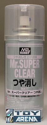 Mr. Hobby Mr. Super Clear Matte Matt Flat Spray 170ml B514 B-514 Model Paint